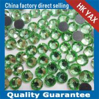 hot fix crystal rhinestone;dmc hot fix rhinestones; hot fix rhinestone for wedding dresses Manufactures