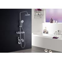 ROVATE Single Handle Bathroom Shower Set High Strength With Shampoo Shelf Manufactures