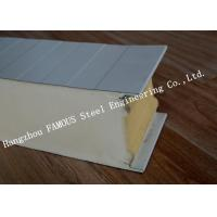 Environment Protection PU Sandwich Insulated Panels Water Resistant for Wall Systems Manufactures