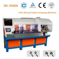2 Pin Plug Semi Automatic Crimping Machine 24mm Stripping Size 1800 - 2000 PCS/H Manufactures