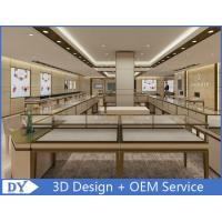 OEM Modern Shop Showroom Jewellery Counter Display With Led