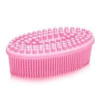 Eco-Friendly Soft Shower Silicone Bath Body Brush Manufactures