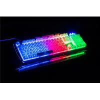 Yuesong backlit wired computer game keyboard light up LED keyboard Manufactures