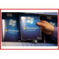 China Full Version Windows 7 Professional Retail Box Sp1 Deutsch DVD With COA on sale