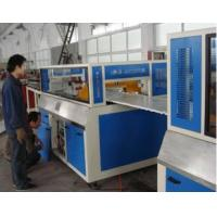 China Pvc Wpc Wood Plastic Composite Extrusion Line For Building Construction Template on sale