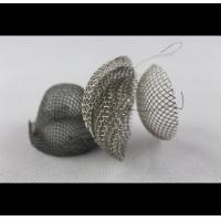 China Audio Stainless Steel Mesh Cylinder , Optional Thickness Perforated Stainless Pipe on sale
