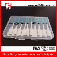 Silicon soft rubber I shape interdental brush 24pcs per box Manufactures