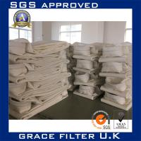 Custom Pleated Fiberglass Filter Media Roll Dust Filter Bags For Dust Collector Manufactures