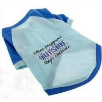Cool Dog Clothes,Dog Apparel,Dog T Shirts  SDT020612 Manufactures