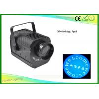 China DMX512 Pattern Gobo Projector DJ Stage Light / Led Advertising Lights 30w 50w wholesale