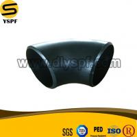 China Carbon Steel Black Painting Butt Welding Pipe Fitting BW 90Degree Short Radius Elbow on sale