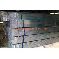 DIN1626 Pre Galvanized Steel Pipe , Q195 / Q235 Hollow Section Square Tubing Manufactures