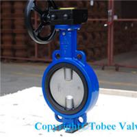 Wafer Type Double Eccentric Butterfly Valve Manufactures