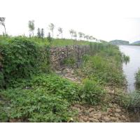 China Double Twisted Woven Wire Mesh Gabion Basket For Erosion Control on sale