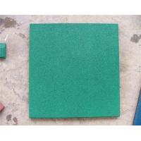Quality Anti Slip Playground Rubber Mats Coated PVC Rubber Safety Green for sale