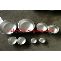 Buy cheap Stainless steel Cap A403 WP304 L / WP316 L / WP321 H / WP347 ASME B16.9 from wholesalers