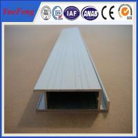 Quality extruded aluminum rail price, aluminium profiles frame with painting(powder for sale