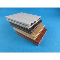 Anti-UV Vinyl Decking Material / WPC Decking for Outdoor Flooring Manufactures