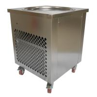 Simple Operation Manual Fried Ice Cream Roll Machine Single Pan Cold Plate Manufactures