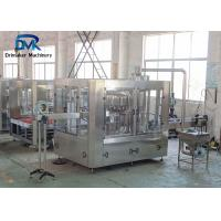 China Small Capacity Juice Filler Machine 380v / 220v Beverage Production Equipment on sale