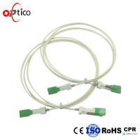 Buy cheap Auto Shutter SC SC Fiber Patch Cord / Customized Optical Fiber Patch Cord from wholesalers