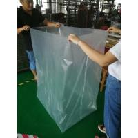 Clear Plastic PVC Mattress Cover Bag , Nylon Plastic Bag With Zipper Closure Manufactures