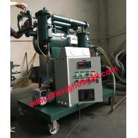 Small capacity vacuum transformer oil purifier machine, insulating oil recycling system,cable oil degasifier Manufactures