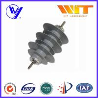 Quality Customized Color 15KV Polymer Surge Arrester for Over Voltage Protection for sale