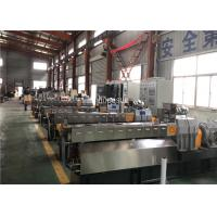 China Parallel Twin Screw Extruder Granules Example Filling Master Batch Production on sale