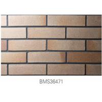 China Exterior Thin Brick Clay Materials For Home Building Free Sample on sale