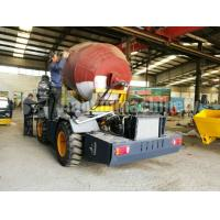 High quality high efficiency electric self-loading cement truck for sale korea concrete mixer truck Manufactures