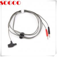 China 4mm Safety Test Lead Stackable Cables With Insulated Shrouded Din Plug on sale