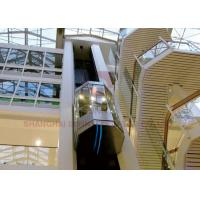 High Speed Elevator Full Glass Sightseeing Panoramic Elevator Manufactures
