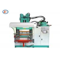 China Large Capacity Vertical Rubber Injection Molding Machine 4 Cavities Hydraulic Seal Press Machine on sale