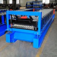 Profile Corrugated Roof Roll Forming Machine , Panel Corrugated Roller Machine Manufactures