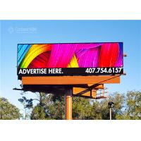 Quality Outdoor Front Access Double Sided LED Billboard With 960x960x100 Cabinet for sale