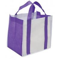 Colorful PP Non Woven Personalised Carrier Bags Reusable Shopping Tote Manufactures