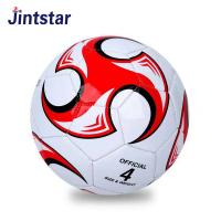 Wholesale promotional size 4 PU PVC Machine stitched new soccer ball Manufactures