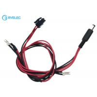794617-4 Micro MATE-N-LOK 3mm Connector To 2.5*5.5mm DC Jack With Solder Joints Wire Cable Manufactures