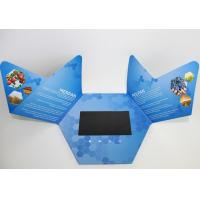 Quality promotional handmade Flip Book Video , company intruction lcd video mailer for sale