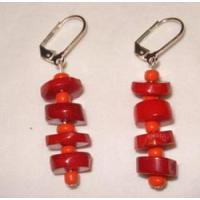 Buy cheap Coral Disk Earring from wholesalers