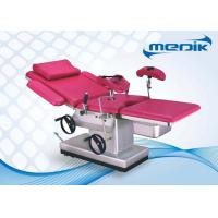 Semi Electric Obstetric Chair , Gynecology Patient Examine Table Manufactures