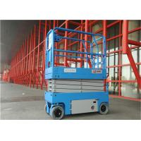 Automatic Electric Scissor Lift Nice Appearance Compact Structures High Stability Manufactures
