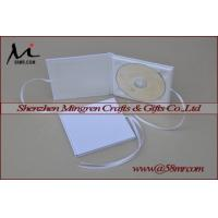 China Cotton Fabric Linen DVD CD Case on sale
