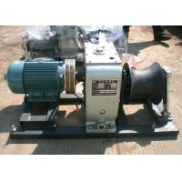 Buy cheap JJM5-D 5 Ton Cable Winch Puller Electric Hoisting Used In Power Transmission from wholesalers