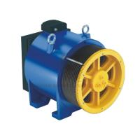 Heavy Load Elevator Gearless Traction Machine Speed 0.5m / S - 3.0m / S Manufactures