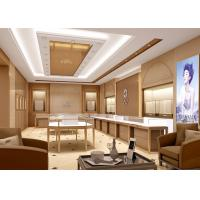Quality Contemporary Jewelry Product Showroom Display Cases With Pre - Assembled for sale