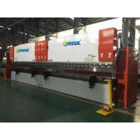 4 Axis CNC Tandem Press Brake 6m , 350 Ton DA52S Steel Structure Metal Plate Bending Machine Manufactures