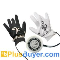 Electronic Piano Gloves with Musical Fingertips - 8 Instrument Tones Manufactures