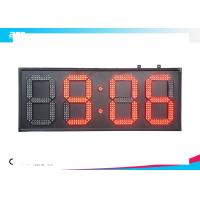 Huge Led Digital Wall Clock Battery Operated Led Display Timer Manufactures